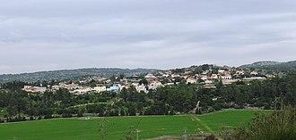 Aviezer - Aviezer as viewed from the Elah Valley
