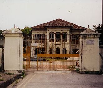 Istana Kampong Glam - Istana Kampong Glam right before restoration in August 2001