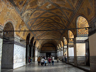 West side of the upper gallery Istanbul.Hagia Sophia055.jpg