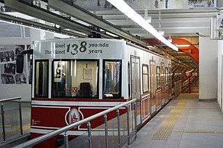 Tünel funicular