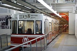 Tünel - Beyoğlu station