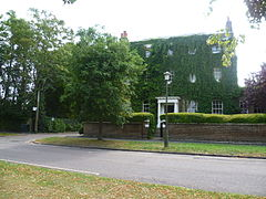 Ivy-covered house in Ham Street (geograph 2537034).jpg