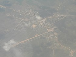 Ixiamas as seen from the air