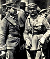 Józef Piłsudski and Józef Haller after victory in battle of Warsaw in 1920.png