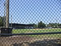 J.P. Small Park looking at infield from outfield fence.JPG