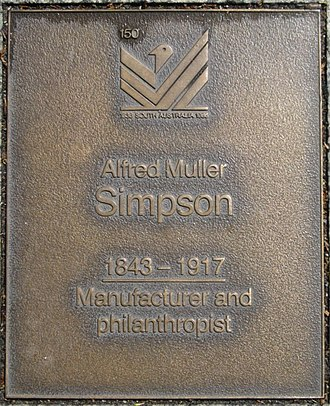 Alfred M. Simpson - Image: J150W Simpson
