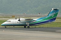 JA801B DHC-8-201 Oriental Air Bridge (7163492781).jpg
