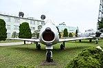 JASDF F-86F(52-7408) front view at Komatsu Air Base September 17, 2018.jpg