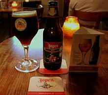 JOPEN KOYT BEER AT THE STAYOK HOSTEL HAARLEM NORTH HOLLAND JUNE 2014.jpg