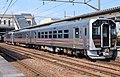 JR East GV-E400 Niitsu Station 20200404.jpg