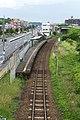 JR Kyushu Shikido Station platform.jpg
