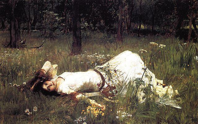 Les héros shakespeariens dans la peinture 640px-JWW_Ophelia_1889