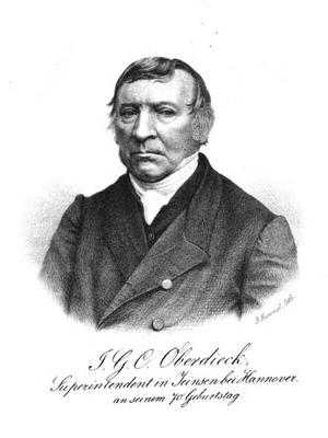 Johann Georg Conrad Oberdieck - Johann Georg Conrad Oberdieck
