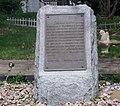 J H Morgan Historical Marker, Harrisville, Ohio.JPG