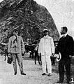 Jack London with Lorrin A. Thurston and Joseph P. Cooke.jpg