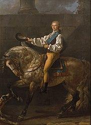 Jacques-Louis David: Portrait of Count Stanislas Potocki