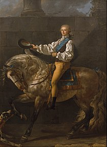Jacques-Louis David - Equestrian portrait of Stanisław Kostka Potocki - Google Art Project.jpg