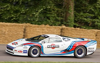 Jaguar XJ220 - Jaguar XJ220 GT, raced in the Italian GT championship