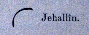 Jahalin Bedouin - Tribal mark or Awsam of Jahalin bedouin. 1851.