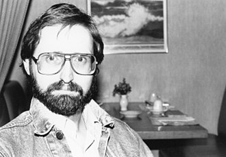 Michael Reaves - A photograph of screenwriter Michael Reaves taken at a Star Trek Convention in 1991.