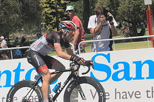 2012 Tour Down Under - Jan Bakelants was the only rider inside the top ten placings to gain time on the final stage; his bonus seconds earned at the second intermediate sprint allowed him to move up to sixth place overall.