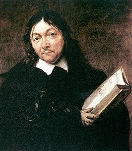 Descartes geschilderd door Jan Baptist Weenix