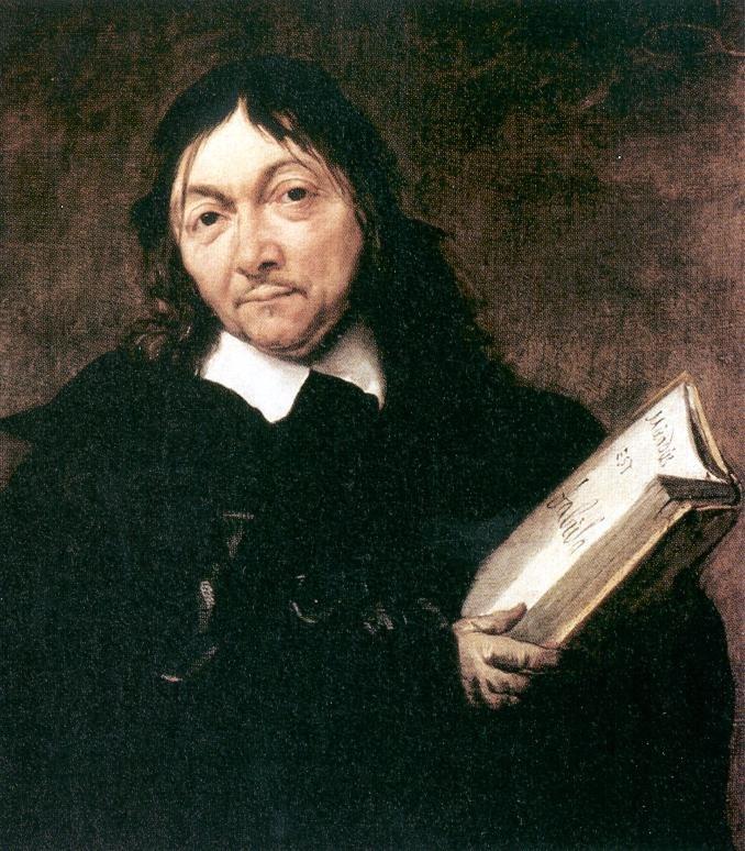 Jan Baptist Weenix - Portrait of René Descartes