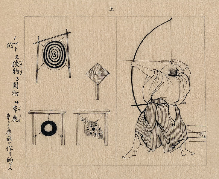 File:Japanese archer 1878b.jpg