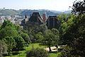 Jardins da Colina Sagrada visto do Castelo de Guimarães.jpg