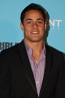 Jarryd Hayne Australian rugby league, rugby union and gridiron footballer