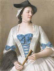 Jeanne-Elisabeth Sellon (1705-1749), Lady Tyrell, echtgenote van Sir Charles Tyrell, 7de Baronet van Thornton (Buckinghamshire)
