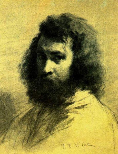 Ficheiro:Jean-François Millet. Auto-retrato.jpg
