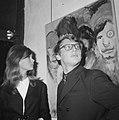 Jean Shrimpton (fotomodel) tentoonstelling geopend in Galerie Krikhaar te Amster, Bestanddeelnr 918-2014.jpg
