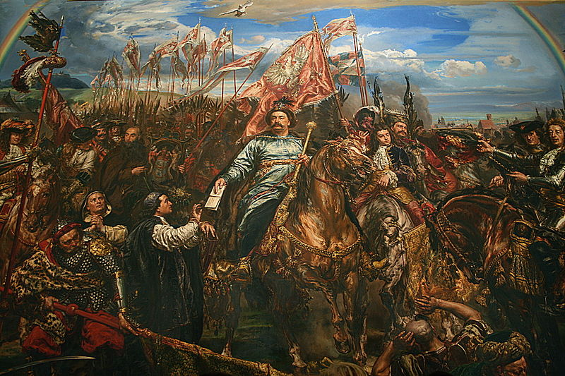 Jan Matejko - Victory of Jan III Sobieski King of Poland against the Turks at the Battle of Vienna.