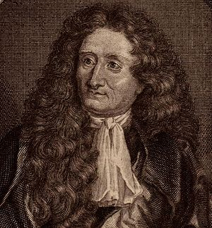 Crop of an engraving showing Jean de La Fontaine