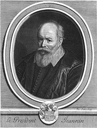 Twelve Years' Truce - President Pierre Jeannin, a posthumous engraving by Jacques Lubin.