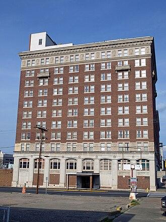 Frederick Ausfeld - The Jefferson Davis Hotel, designed by Ausfeld.