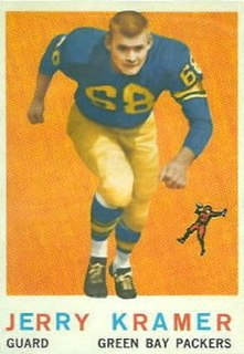 Jerry Kramer Player of American football
