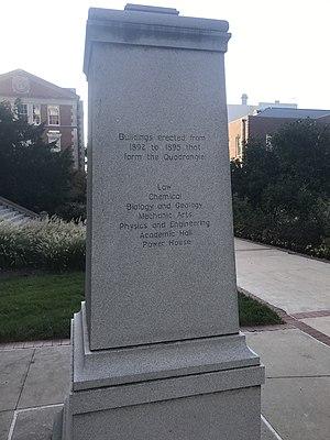 Richard Henry Jesse - Image: Jesse marker at mizzou (east side)