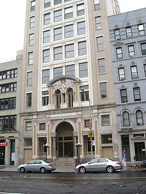 The Forward - Image: Jewish Daily Forward bldg jeh