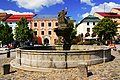 Jihlava, Masarykovo náměstí, kašna bohyně Amfitríty.jpg