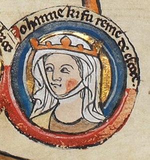 Joan of England, Queen of Scotland - Image: Joan England