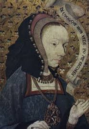 Joan of France, Duchess of Berry - A contemporary portrait of Joan of France.
