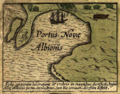 Joducus hondius new albion 1589.png