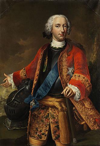 Johann Philipp Graumann - Karl I von Braunschweig-Wolfenbüttel by Johann Conrad Eichler