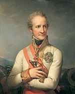 Prince Johann von Liechtenstein's attack found no French opposition.