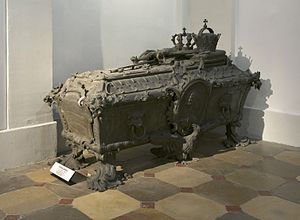 Archduchess Maria Johanna Gabriela of Austria - Her sarcophagus in the Imperial Crypt