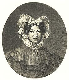 Johanna Schopenhauer um 1800 (Quelle: Wikimedia)