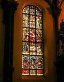 Johanneskirche Freiburg - Glasfenster - Geburt Christi.jpg