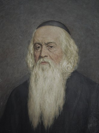 John Amos Comenius - Portrait of Comenius by the Slovak painter Karol Miloslav Lehotský